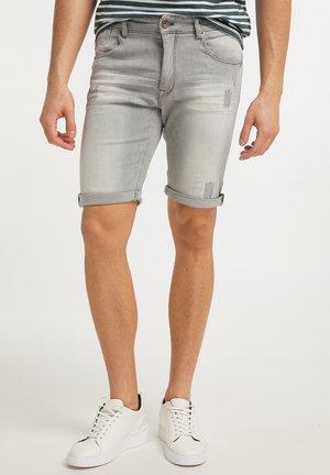 Džínové kraťasy - light grey
