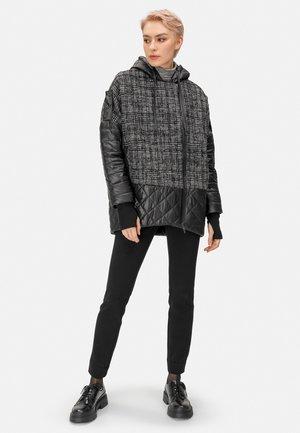 KURZEJACKE KURZEJACKE - Winter coat - schwarz grau