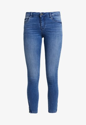 NMKIMMY ANKLE ZIP - Jeans Skinny Fit - light blue denim