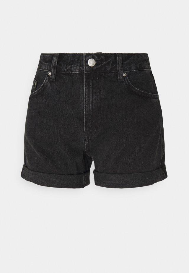 Jeansshort - black trace