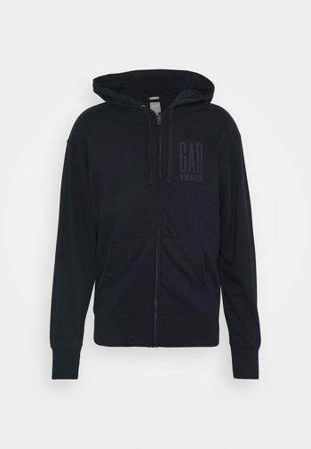 LOGO - Zip-up hoodie - new classic navy