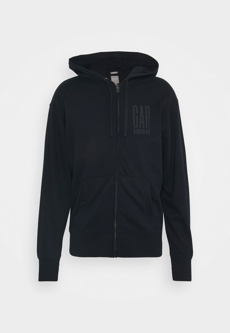 GAP - LOGO - Zip-up hoodie - new classic navy