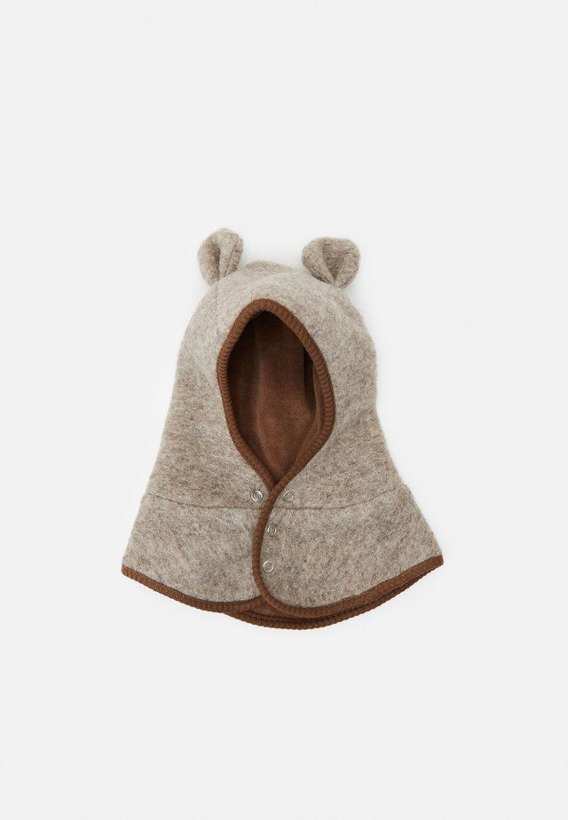 BUT EARS BUTTONS UNISEX - Čepice - camel