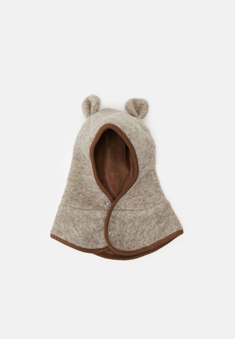 Huttelihut - BUT EARS BUTTONS UNISEX - Bonnet - camel