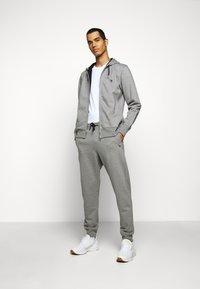 PS Paul Smith - MENS ZIP HOODY - Zip-up hoodie - mottled grey - 1