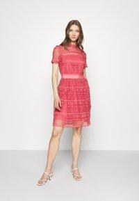 Vila - VINELLY DRESS - Cocktail dress / Party dress - slate rose - 1