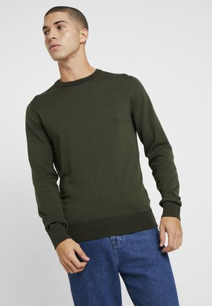 C NECK - Jumper - green