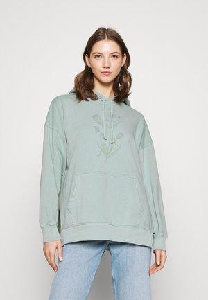 HOODIE SOLID - Sweatshirt - mint