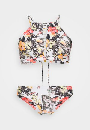 SOARA MAOI FIX SET - Bikini - white/red