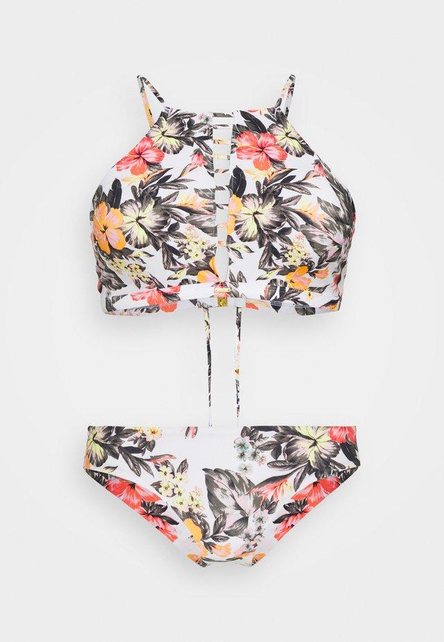 SOARA MAOI FIX SET - Bikini - white/red