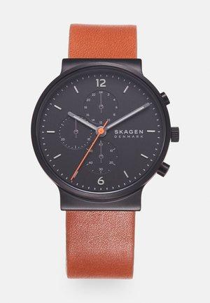 ANCHER UNISEX - Chronografické hodinky - brown