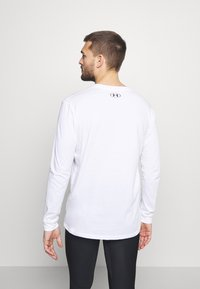 Under Armour - SPORTSTYLE LOGO - Long sleeved top - white - 2