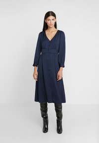 J.CREW - FLINT DRESS - Shirt dress - navy - 0