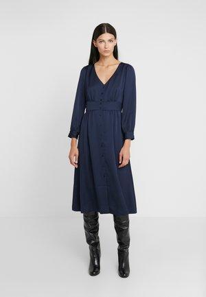 FLINT DRESS - Shirt dress - navy