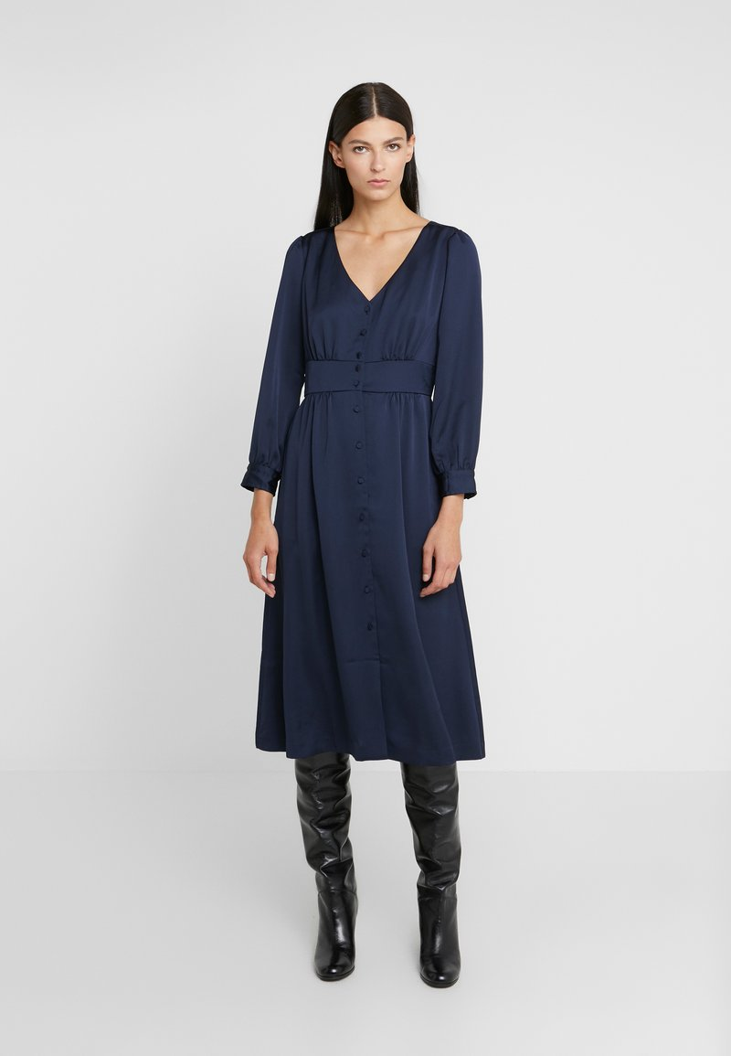 J.CREW - FLINT DRESS - Shirt dress - navy