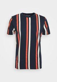 Jack & Jones - JORJERRY TEE CREW NECK  - T-shirt con stampa - navy blazer - 4