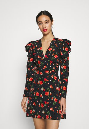 TULIP RUCH WAIST MINI - Robe d'été - multi-coloured