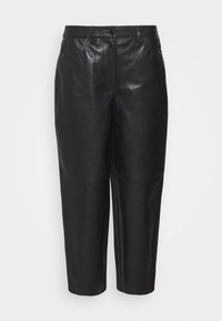Lovechild - ASTON - Leather trousers - black - 4