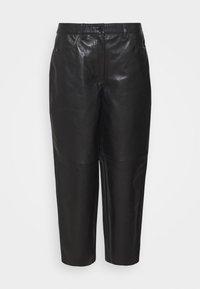 Lovechild - ASTON - Kožené kalhoty - black - 4