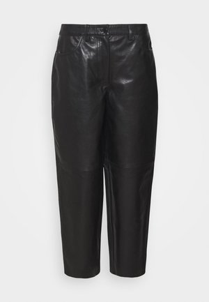 ASTON - Kožené kalhoty - black