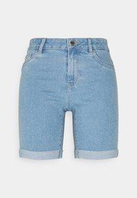ONLY Petite - ONLSUNANNEK MIDLONGSHORTS 2 PACK - Shorts di jeans - light blue denim - 1