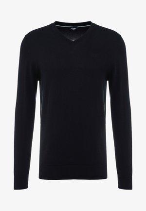 BARRY - Stickad tröja - black