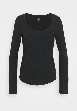 SNOW NEPP - Long sleeved top - true black