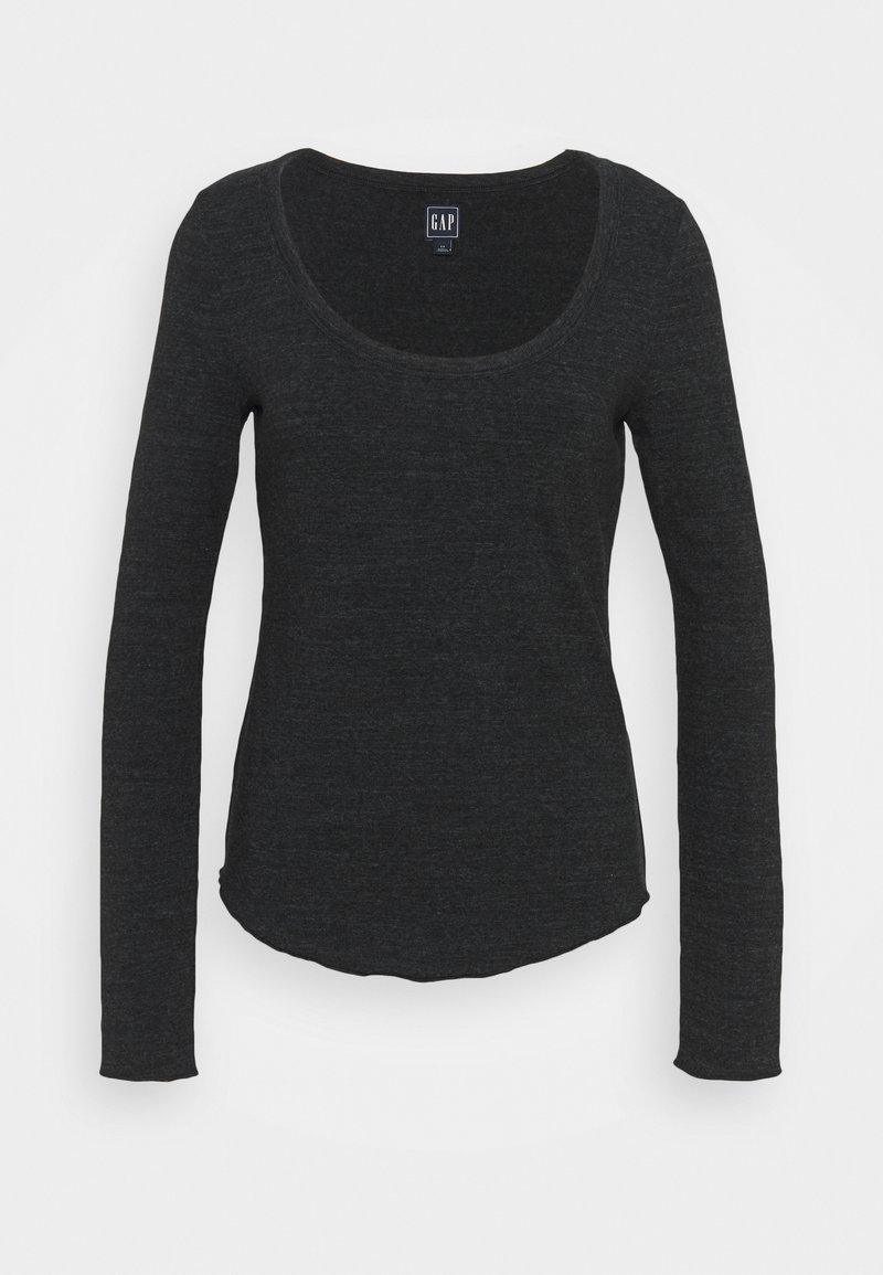 GAP - SNOW NEPP - Long sleeved top - true black