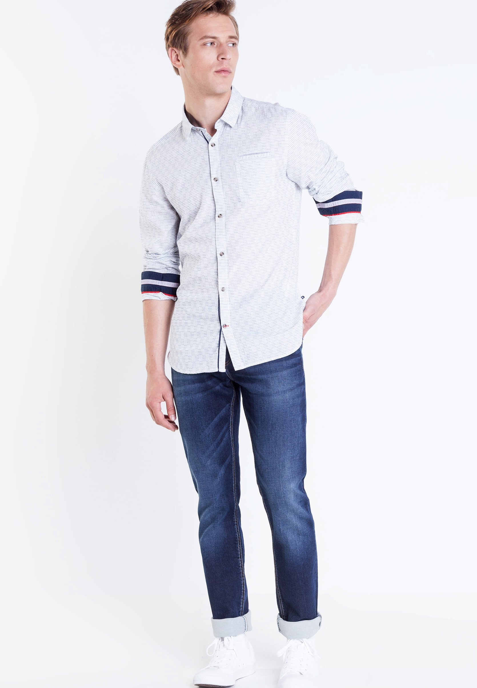 BONOBO Jeans BONOBO  - Jean droit - denim brut