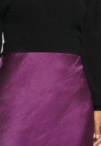 Expresso - HIRA - A-line skirt - dark violet - 4