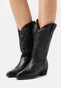 mtng - TEO - Cowboy/Biker boots - black - 0