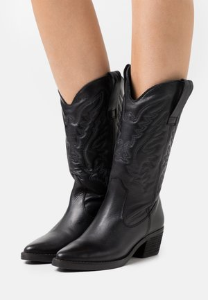 TEO - Cowboystøvler - black
