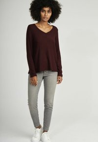 NAF NAF - Long sleeved top - red