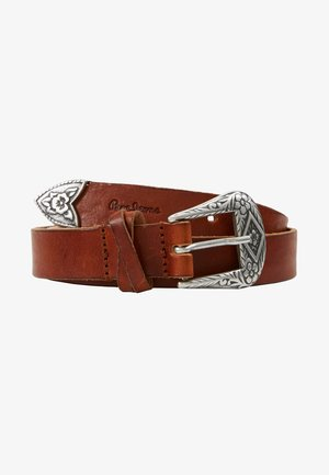 BUCKLE BELT - Pásek - natural
