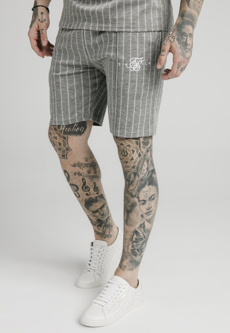 SIKSILK - Shorts - grey