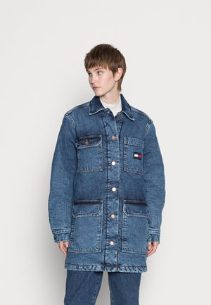 Short coat - denim dark