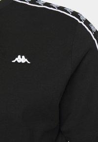 Kappa - HANNO TEE - Print T-shirt - caviar - 2