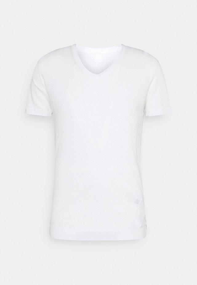 SHORT SLEEVE - T-shirt - bas - white