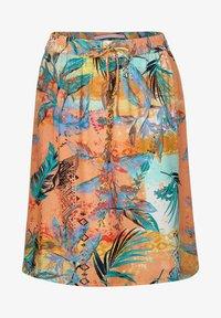 Cecil - A-line skirt - orange - 3