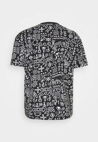Napapijri The Tribe - NOAIDE UNISEX - T-shirt con stampa - black - 1