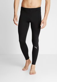 Puma - IGNITE LONG TIGHT - Tights - black - 0