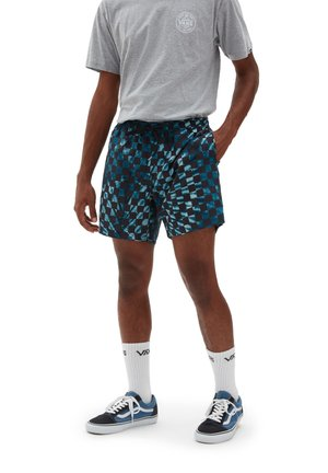 MN MIXED VOLLEY - Shorts - moroccanblchckrbrdtie dye