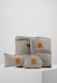 Lässig - TWIN BAG TRIANGLE SET - Sac à langer - light grey - 8