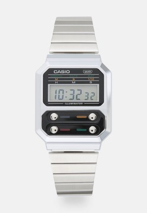 F100 REVIVAL UNISEX - Digital watch - silver-coloured