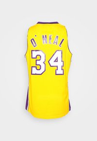 Mitchell & Ness - NBA LOS ANGELES LAKERS SHAQUILLE O'NEAL SWINGMAN - Article de supporter - light gold - 1