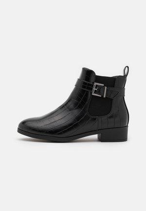 POLIWIA - Kotníkové boty - black