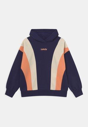 COLORBLOCKHOODIE - Sweatshirt - peacoat