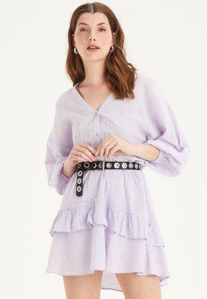 MAY WIDE DRESS - Vapaa-ajan mekko - purple