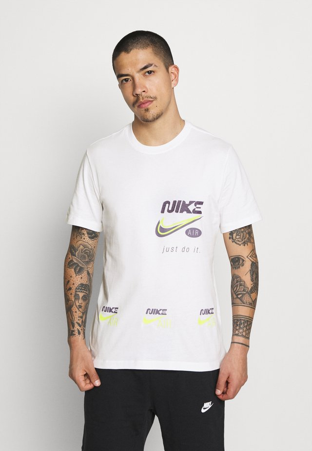 TEE MULTIBRAND  - T-shirt imprimé - white