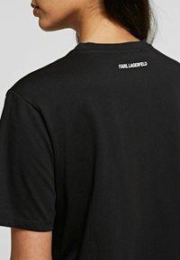KARL LAGERFELD - T-Shirt print - black - 3